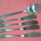 INTERNATIONAL GRAN ROYAL 5pc FLATWARE STAINLESS SILVERWARE