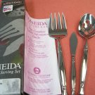 ONEIDA LTD ACT 1 3pc SERVING FORK SPOON & BUTTER KNIFE NEW STAINLESS FLATWARE SILVERWARE