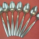 INTERNATIONAL BRENTWOOD GARDEN MANOR 7 SERRATED GRAPEFRUIT SPOONS STAINLESS FLATWARE SILVERWARE