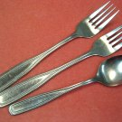 ONEIDA NORTHLAND CLASSIC HARMONY WILMINGTON 3pc STAINLESS FLATWARE SILVERWARE