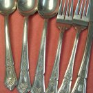 IMPERIAL IMI 27 IMI27 6pc STAINLESS FLATWARE SILVERWARE