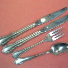 ONEIDA MANSFIELD BAR BERRY CRANFORD 5pc LTD WM ROGERS GLOSSY STAINLESS FLATWARE SILVERWARE