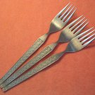 RIVIERA RIF 17 RIF17 3 PLACE FORKS STAINLESS FLATWARE SILVERWARE