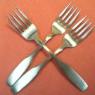 ONEIDA PAUL REVERE 3 SALAD FORKS COMMUNITY STAINLESS FLATWARE SILVERWARE