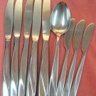 INTERNATIONAL INSICO FINLANDIA TIVOLI GUEST HOUSE 9pc STAINLESS FLATWARE SILVERWARE