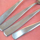 IMPERIAL UNKNOWN PATTERN STAINLESS 4pc FLATWARE SILVERWARE