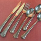 ONEIDA SPRING GLEN 6pc  DISTINCTION DELUXE STAINLESS FLATWARE SILVERWARE