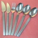 HACKMAN FINLAND UNKNOWN PATTERN 6pc STAINLESS FLATWARE SILVERWARE