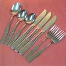 REED & BARTON FIDDLER II 8pc SELECT STAINLESS FLATWARE SILVERWARE