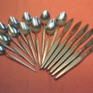 ONEIDA SHADOW WEAVE 18pc WEST BEND STAINLESS FLATWARE SILVERWARE