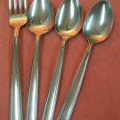 ONEIDA FOREVER ALL AMERICAN 4pc STAINLESS FLATWARE SILVERWARE
