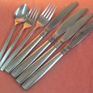 ONEIDA MELISSA 7pc LTD WM A ROGERS PREMIER STAINLESS FLATWARE SILVERWARE