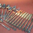 MSI MERCHANDISE SERVICE INC MARSEILLES 19pc STAINLESS FLATWARE SILVERWARE