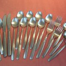 INTERNATIONAL BRENTWOOD GARDEN MANOR 18pc STAINLESS FLATWARE SILVERWARE
