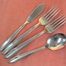 ONEIDA PROFILE 4pc ONEIDACRAFT DELUXE STAINLESS FLATWARE SILVERWARE