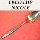 EKCO NICOLE TEASPOON EPH HOME PRODUCTS STAINLESS STEEL FLATWARE SILVERWARE
