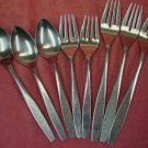 ONEIDA LTD LIDO 8pc STAINLESS FLATWARE SILVERWARE