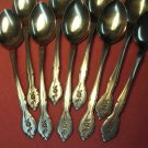 BARCLAY GENEVE BAG 5 BAG5 9 PLACE SPOONS STAINLESS FLATWARE SILVERWARE