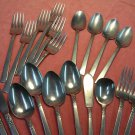ONEIDA WM A ROGERS NORTHLAND 23pc PREMIER STAINLESS FLATWARE SILVERWARE