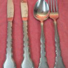 ONEIDA SATINIQUE TEASPOON FORK &2 KNIVES COMMUNITY STAINLESS FLATWARE SILVERWARE