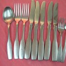 ONEIDA PAUL REVERE 10pc COMMUNITY STAINLESS FLATWARE SILVERWARE