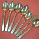 ONEIDA FLIGHT 7pc ONEIDACRAFT DELUXE STAINLESS FLATWARE SILVERWARE