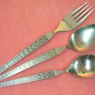 RIVIERA RIF 17 RIF17 PLACE SPOON FORK & SUGAR STAINLESS FLATWARE SILVERWARE