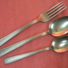INTERNATIONAL SUPREME TEA & PLACE SPOON & FORK INSICO STAINLESS FLATWARE SILVERWARE