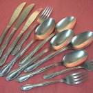 INTERNATIONAL CHAPEL HILL 5SPOONS 3FORKS 3KNIVES SUPERIOR  STAINLESS FLATWARE SILVERWARE