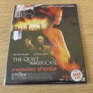 MICHAEL CAINE BRENDAN FRASER THE QUIET AMERICAN MOVIE DVD 2002 THAI LANGUAGE