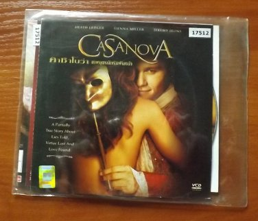 HEATH LEDGER SIENNA MILLER JEREMY IRONS CASANOVA MOVIE DVD 2005 THAI LANGUAGE