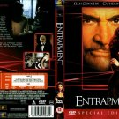 SEAN CONNERY CATHERINE ZETA-JONES ENTRAPMENT MOVIE DVD 1999 ENGLISH LANGUAGE