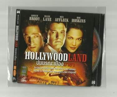 HOLLYWOODLAND  BEN AFFLECK ADRIEN BRODY DIANE LANE BOB HOSKINS MOVIE DVD 2006 THAI LANGUAGE