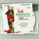 FOUR CHRISTMASES  VINCE VAUGHN REESE WITHERSPOON  MOVIE DVD 2008 THAI LANGUAGE