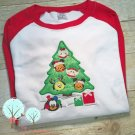 Tsum Tsum Inspired Applique Tee Shirt -- Mickey, Goofy, Donald, Minnie, Daisy