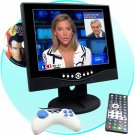 Widescreen 10.4 Inch LCD Car + House DVD Player