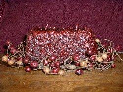 Grubby 2-wick Loaf (Cinnamon Spice)