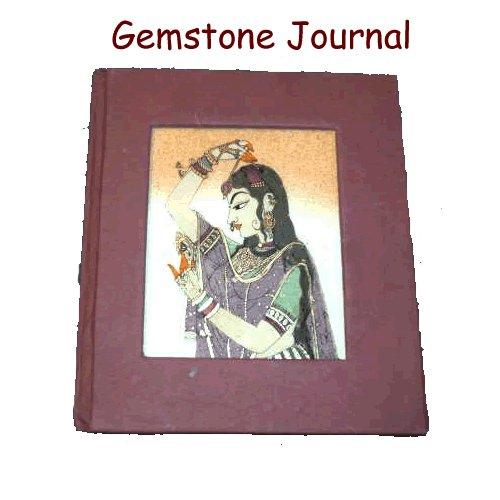 Gemstone Painting Journal - Marron