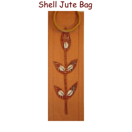Shell - Jute Wine Bag