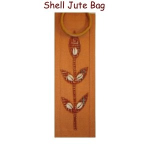 Shell - Jute Wine Bag