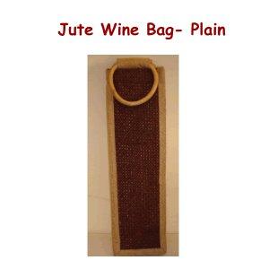 Jute Wine Bags - Plain