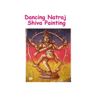 Dancing Natraj Batik Painting