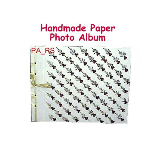Handmade Paper Photo Album - Roses