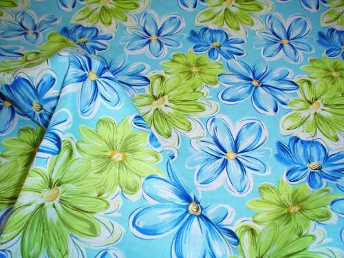 Cotton Fun Blue Floral