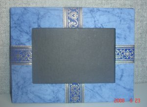 Handmade Batik Paper Photo Frame- 4/6