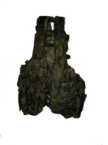 Tactical Load Bearing Vest Canadian Digital camo