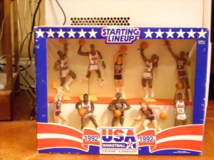 1992 Olympic Dream Team Starting Line-Ups