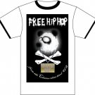 Free Hip Hop Tee - White