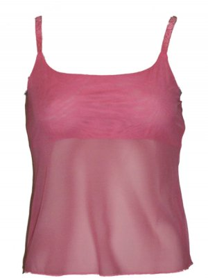 Natori Underneath Sheer Camisole Cami Large