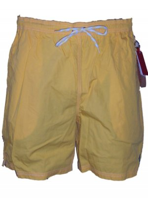 Izod Men's Yellow Swim Trunks Swimsuit Small
